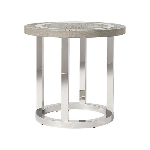 Modern Wyatt Round End Table