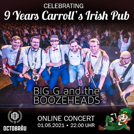 9 Years Carroll's Irish Pub