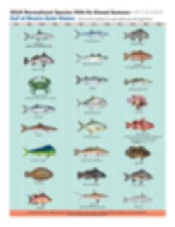 2018 Recreational Species