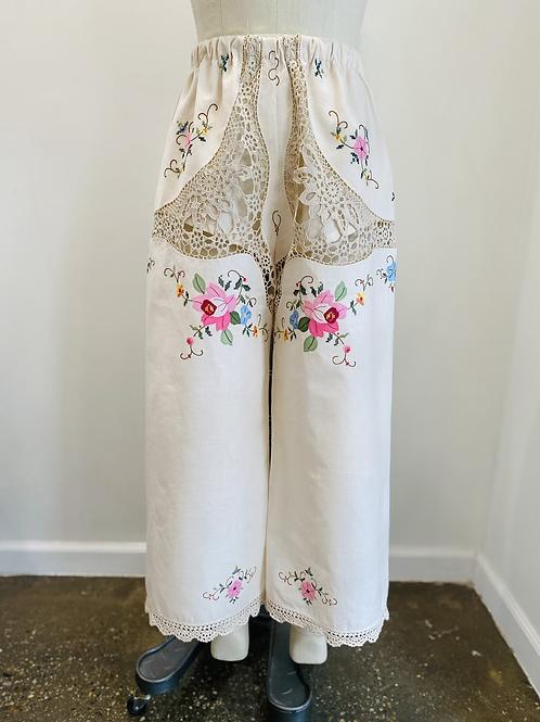 Heirloom Embroidered Pants