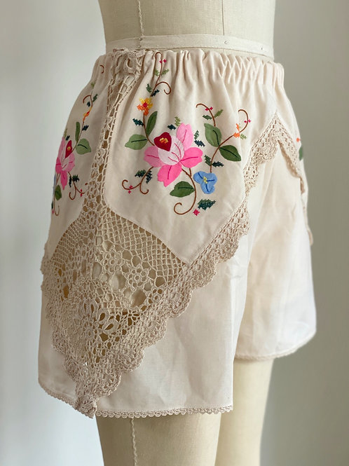 Heirloom Embroidered Shorts