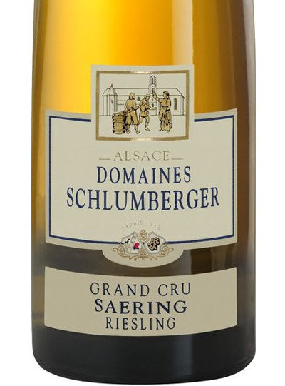 Riesling Schlumberger Grand Cru saering 2012