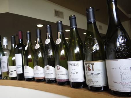 Cotes du Rhone Wine Tasting Special Reserve July 21st 2016