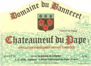 Domaine du Banneret Chateauneuf-du-Pape 2007, Rhone, France