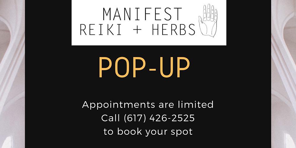 Manifest Reiki + Herbs Popup at Blackroom Salon