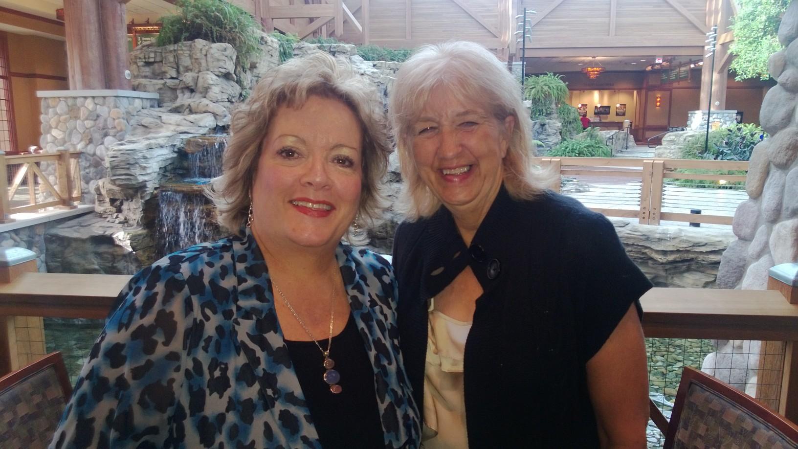 Eileen Duffin & Pat Wilson