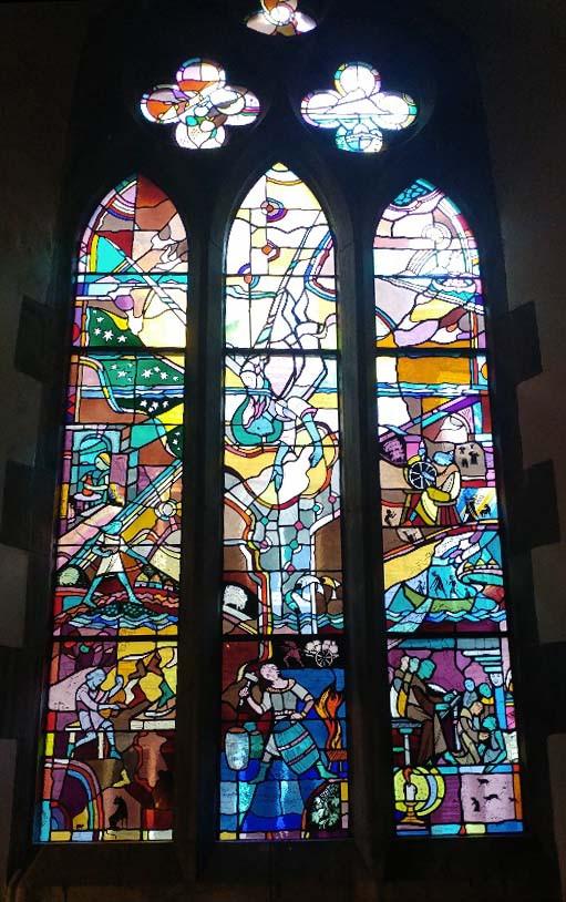 Bleiverglasung in der St. Patricks Cathedral