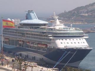 El crucero 'Tui Discovery 2' vuelve a hacer escala este sábado en Ceuta