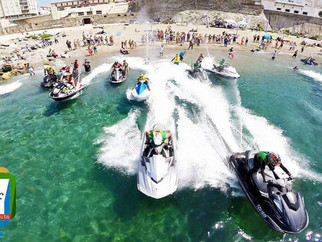 Servicios Turísticos colabora en la I concentración de motos de agua y Jet Ski de Ceuta