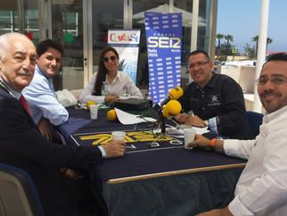 Programa en directo de Cadena Ser desde Servicios Turísticos de Ceuta