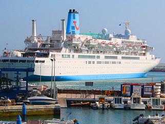 Ceuta recibe al cuarto crucero de la temporada