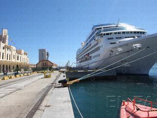 Nueva escala de un crucero en Ceuta