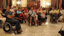 Ceuta recibe a un nuevo grupo de turistas de la plataforma Predif