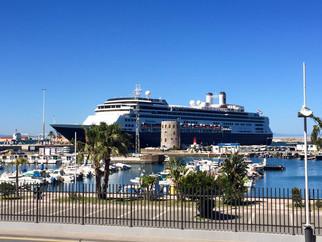 El 'Rotterdam' abre la temporada de cruceros de este 2016 en Ceuta