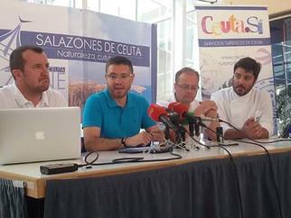 La posibilidad de que los salazones ceutíes se conviertan en destino turístico europeo, a evaluación