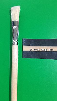 מכחול בריסטל טבעי מס' 12 טלנס Talens