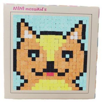 ערכה ליצירת תמונת פסיפס - Mini Mosaikid's חתול