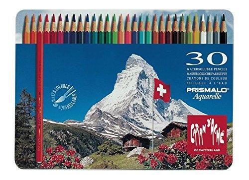 סט עפרונות אקוורל 30 יח׳ ״ההר המושלג״