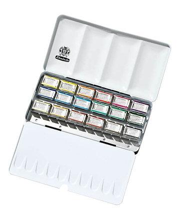 סט צבעי מים 18 קוביות  Schmincke סדרת Horadam