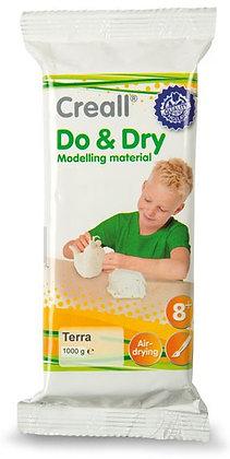 Creall DO&DRY  חומר פיסולי לבן