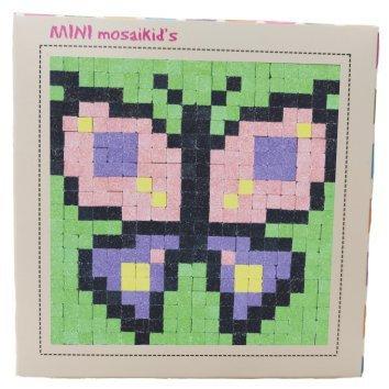 ערכה ליצירת תמונת פסיפס - Mini Mosaikid's - פרפר