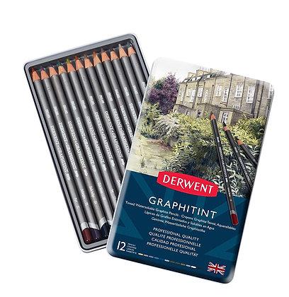 Derwent סט 12 עפרונות גרפיט