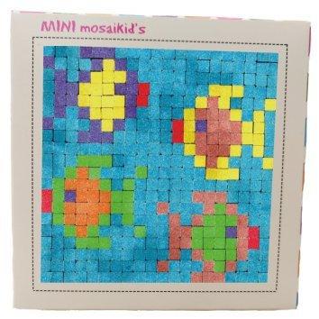 ערכה ליצירת תמונת פסיפס - Mini Mosaikid's - דגים