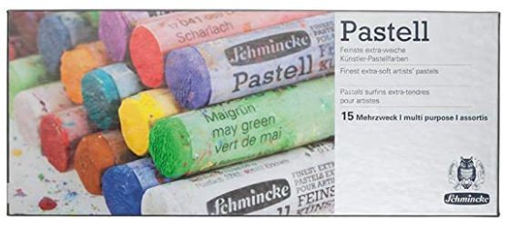 סט 15 גירי פסטל - רמת ארטיסט - תוצרת schminke