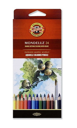 סט עפרונות אקוורל 24 יח׳
