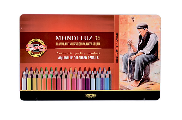סט עפרונות אקוורל 36 יח׳