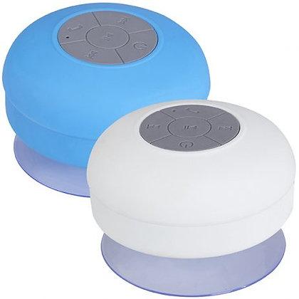 רמקול BlueTooth מוגן מים עם כרית הצמדה ליציבות