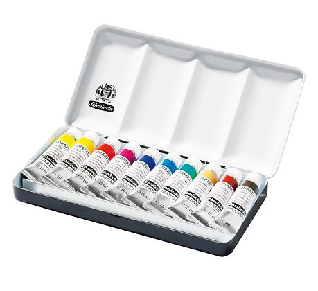 סט 10 צבעי מים Schmincke סדרת Horadam