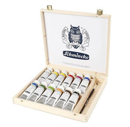 סט צבעי אקריליק 12 שפופרות Schmincke AKADEMIE®