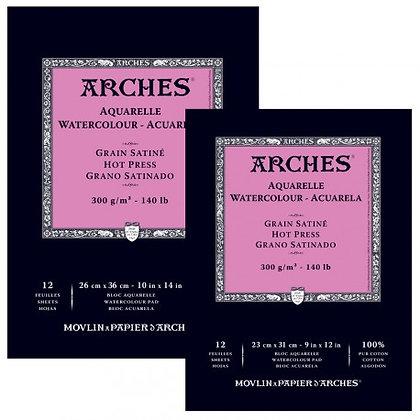 בלוק לצבעי מים - Arches - מרקם חלק A5
