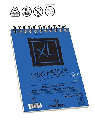 Canson XL מיקס מדיה A5