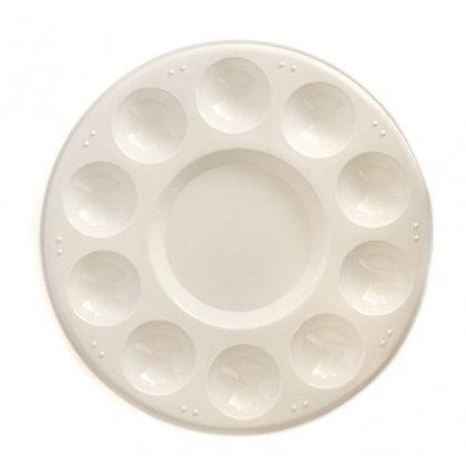 פלטה פלסטיק עגולה קוטר 17 ס״מ