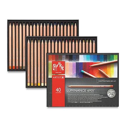 עפרונות שעווה 40 יח׳ רכים במיוחד