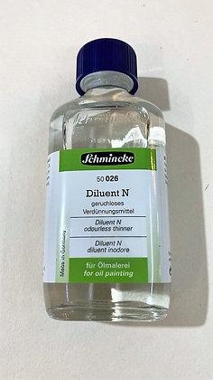 מדלל ללא ריח לצבעי שמן 200 מל' Schminke