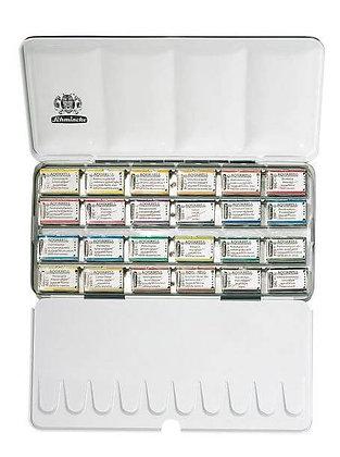 סט צבעי מים 24 קוביות  Schmincke סדרת Horadam