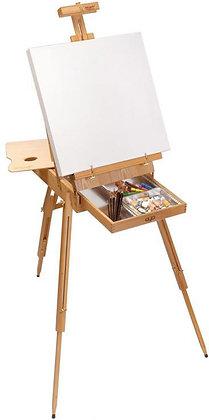 כן ציור ״צרפתי״ עם מזוודה