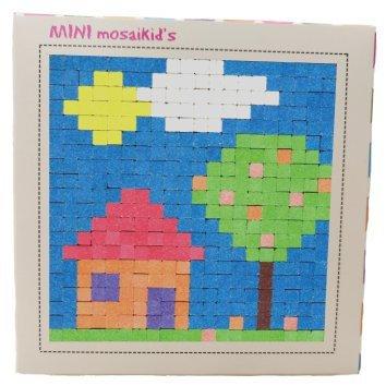 ערכה ליצירת תמונת פסיפס - Mini Mosaikid's - בית