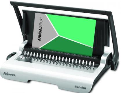מכונת כריכה בספירלה 15 דף בחירור אחד, חוברת עד 150 דף