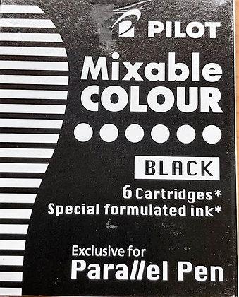 מארז 6 מילוי שחור לפאראלל פן פיילוט
