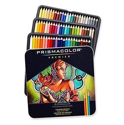 72 עפרונות שעווה מקצועיים לציור Prisma Color