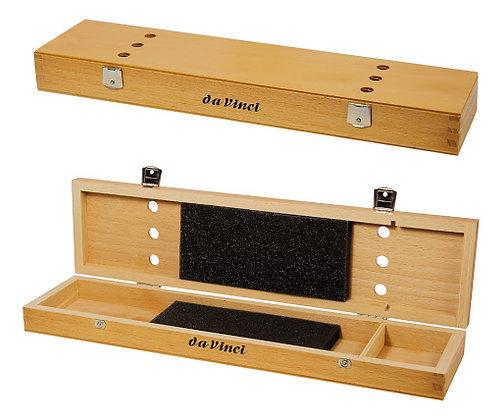 קופסא מהודרת למכחולים עשויה בעבודת יד