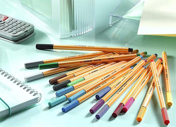 "Stabilo סט עטים 0.4 מ""מ מבית"