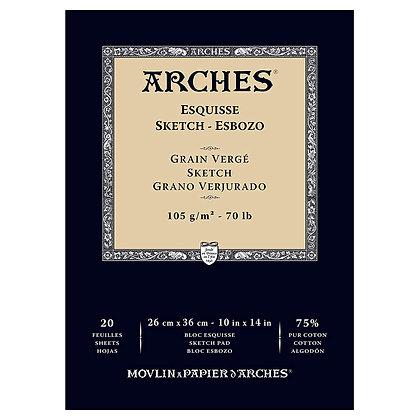 "Arches סקצ'בוק לרישום 23*31 ס""מ"