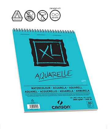 Canson XL לצבעי מים A5
