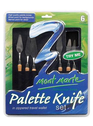 סט 6 סכיני ציור