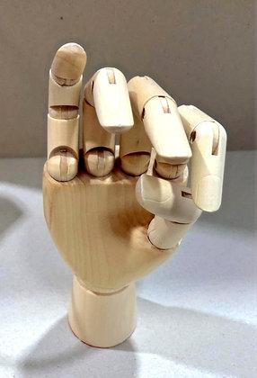 יד עץ 25 ס״מ